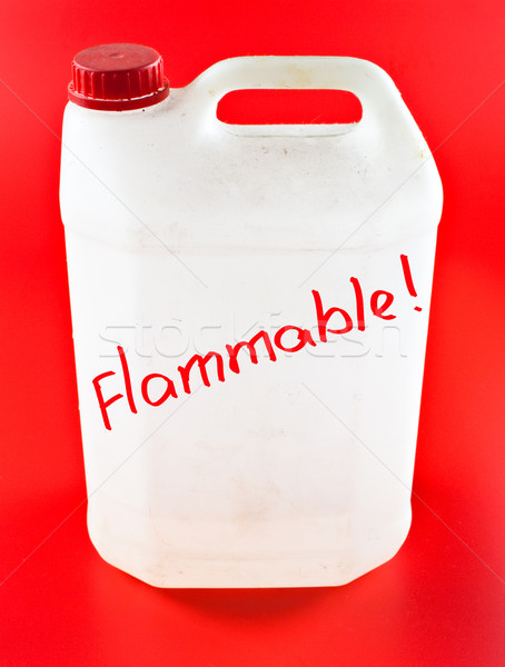 flammable canister Stock photo © PetrMalyshev
