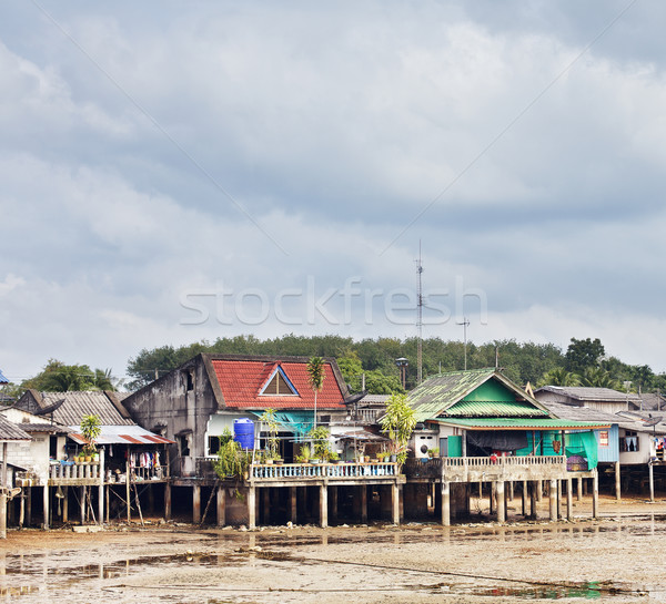 Fishery Village Stock photo © PetrMalyshev
