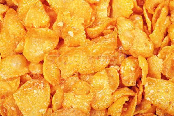 Cornflakes With Honey And Nuts Stock photo © PetrMalyshev