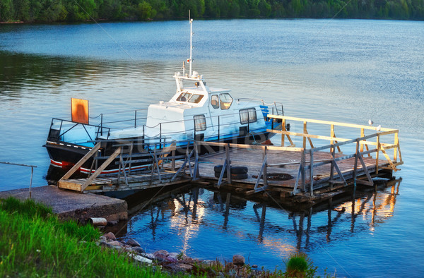 Docked Boat Stock photo © PetrMalyshev