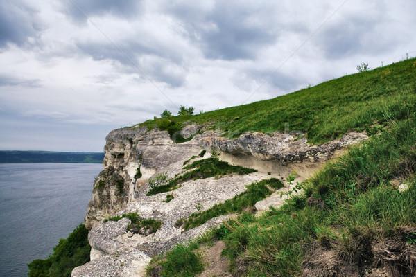 Rock Over Dniester Stock photo © PetrMalyshev
