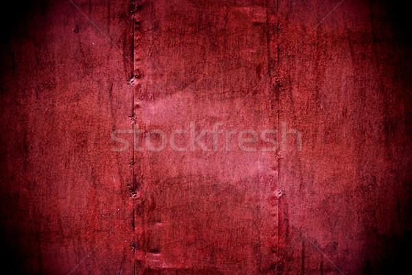 Fém festett bíbor fal textúra magas Stock fotó © PetrMalyshev