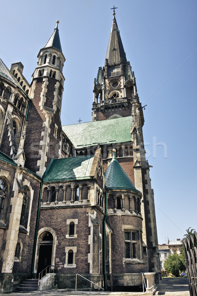 Church of St. Olha and Elizabeth Stock photo © PetrMalyshev