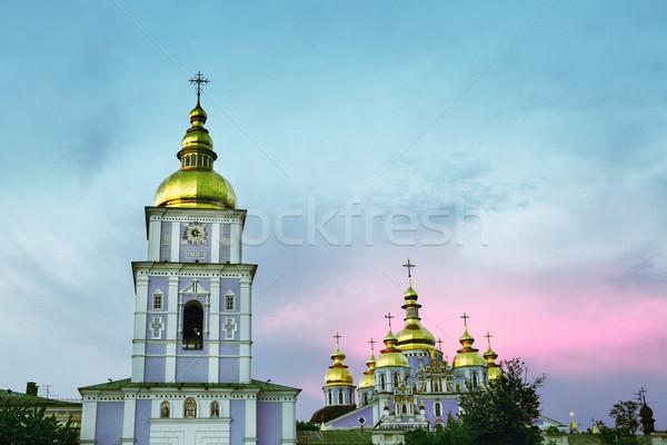St. Michael's Golden-Domed Monastery Stock photo © PetrMalyshev