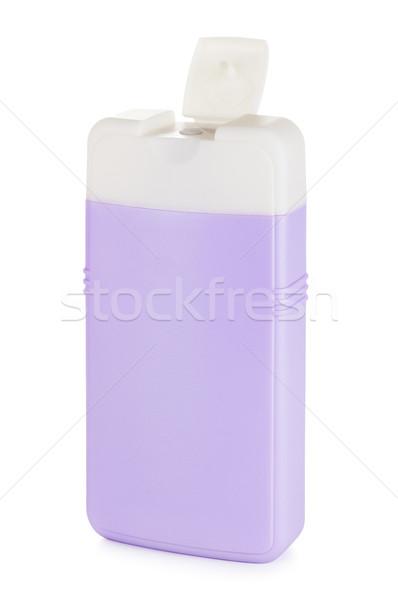 üveg sampon műanyag takarítószerek izolált fehér Stock fotó © PetrMalyshev