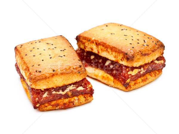 Sandwich Cookies Stock photo © PetrMalyshev