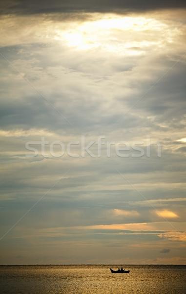 Sunset over Andaman Sea Stock photo © PetrMalyshev