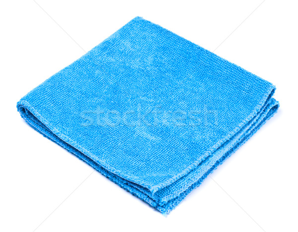 blue microfiber duster Stock photo © PetrMalyshev