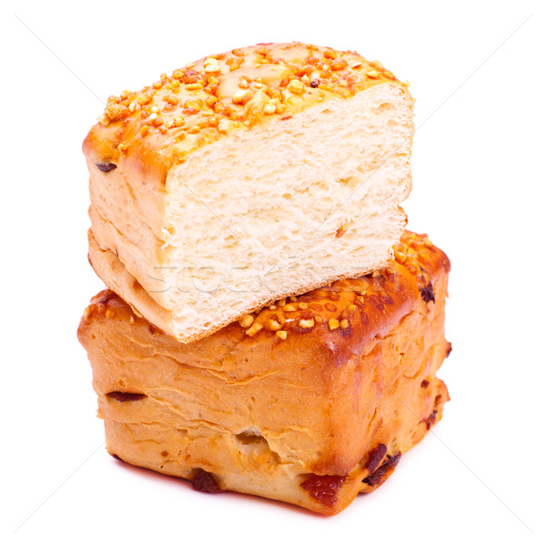Bread Loaf With Sesame Stock photo © PetrMalyshev