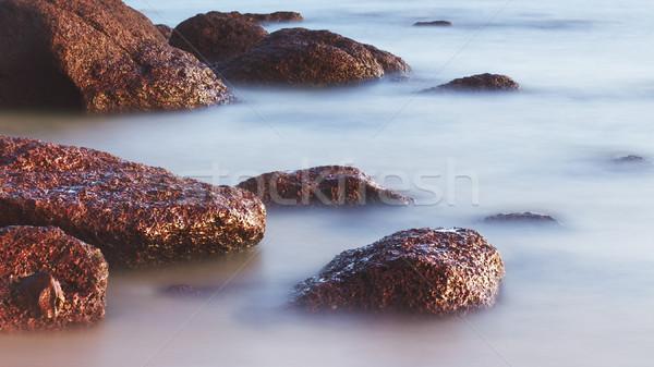Rocks in the Surf Stock photo © PetrMalyshev
