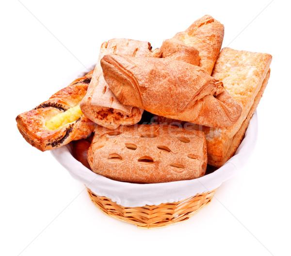 Bread Basket Stock photo © PetrMalyshev