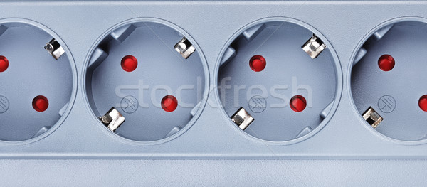 Surge Protector Socket Stock photo © PetrMalyshev