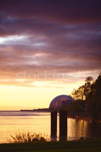 Sea Sunset Stock photo © PetrMalyshev