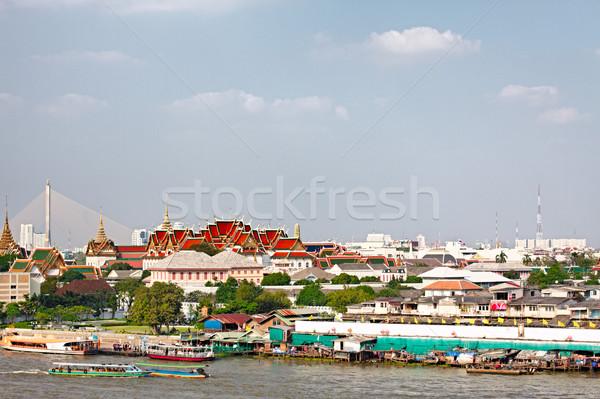 Wat Pho on Chao Phraya Stock photo © PetrMalyshev