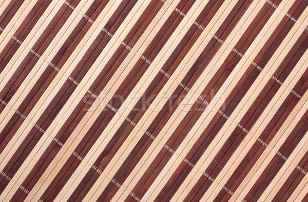 Bamboo Mat Stock photo © PetrMalyshev