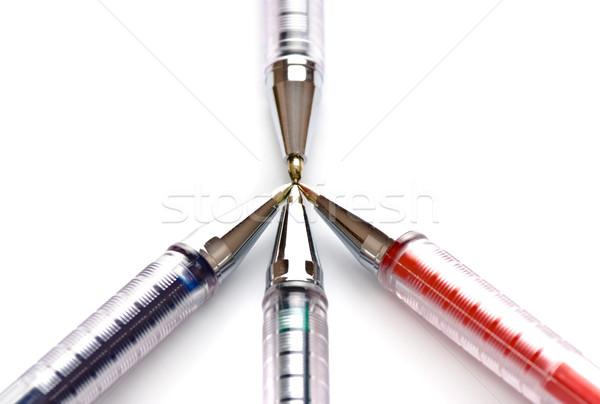 pens indicate purpose Stock photo © PetrMalyshev