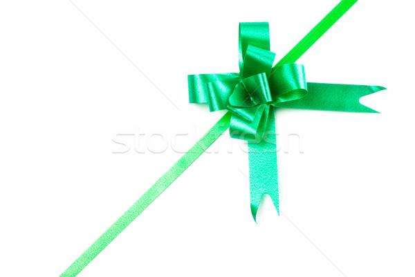 green bow Stock photo © PetrMalyshev