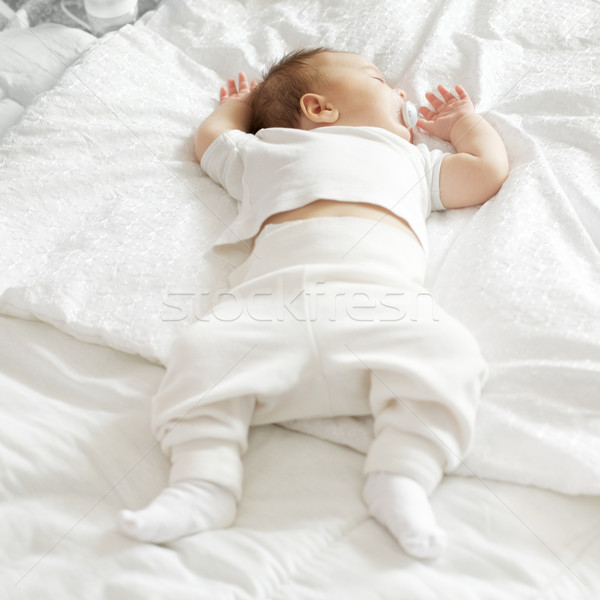 Sleeping Baby Stock photo © PetrMalyshev