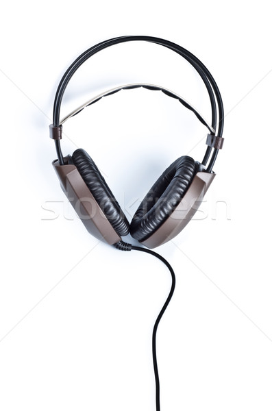 stereo headphones isolated on white  Stock photo © PetrMalyshev