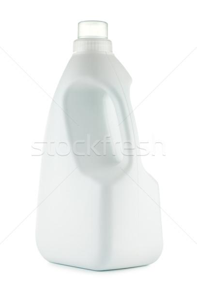 Lavanderia detergente garrafa isolado branco fundo Foto stock © PetrMalyshev