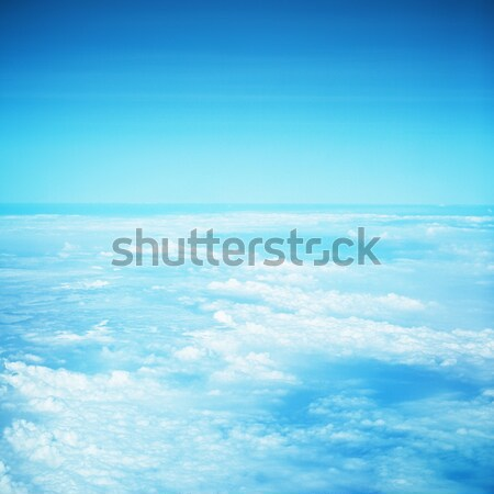 Above Clouds Stock photo © PetrMalyshev