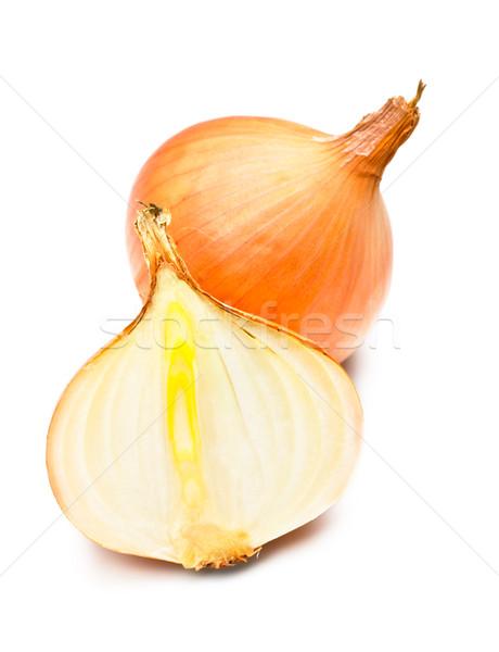 Two Onions Stock photo © PetrMalyshev