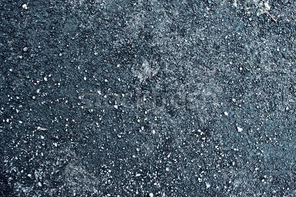Nat asfalt textuur hoog weg Stockfoto © PetrMalyshev