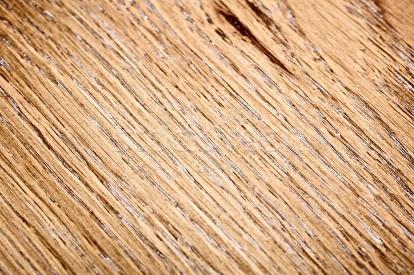 Houten eiken textuur warm bruin Stockfoto © PetrMalyshev