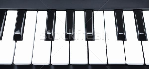 Digital Midi Keyboard Stock photo © PetrMalyshev
