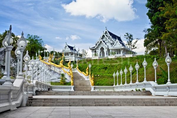 Templo krabi ciudad Tailandia viaje arquitectura Foto stock © PetrMalyshev