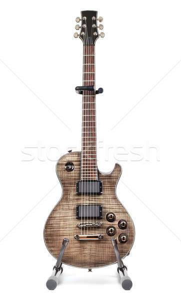 Electric Guitar On Stand Stock photo © PetrMalyshev