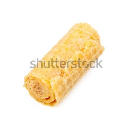 Crispy Wafer Roll Stock photo © PetrMalyshev