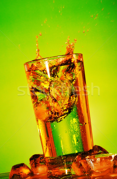 Splashing Soda Stock photo © PetrMalyshev