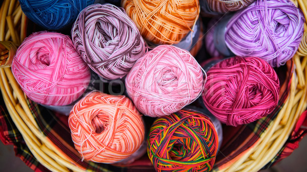 Knitted Wool Stock photo © PetrMalyshev