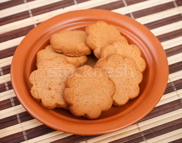 dish of cinnamon cookies Stock photo © PetrMalyshev