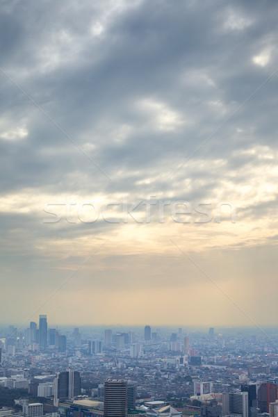 バンコク 表示 日没 タイ ストックフォト © PetrMalyshev
