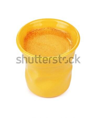Espresso Cup With Coffee Stock photo © PetrMalyshev