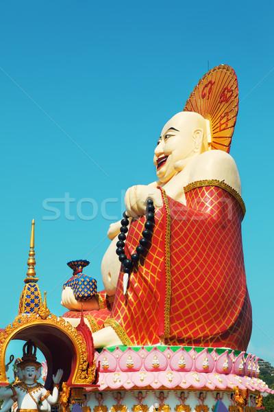 Big Buddha In Wat Plai Laem Stock photo © PetrMalyshev