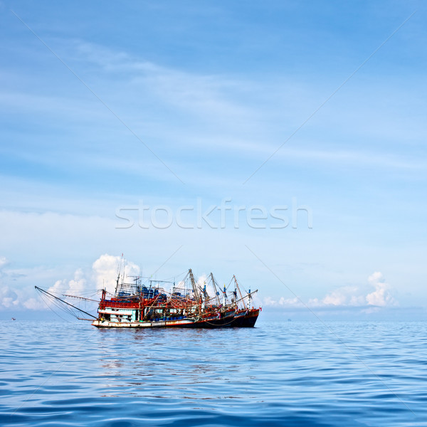 Trawlers Group Stock photo © PetrMalyshev
