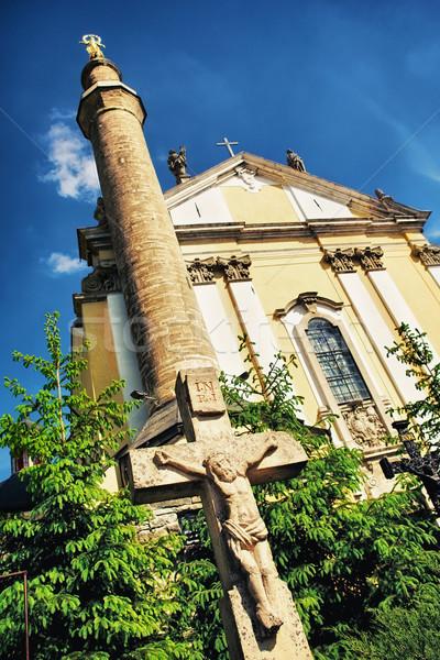 Kamenetz-Podolsk Cathedral Stock photo © PetrMalyshev