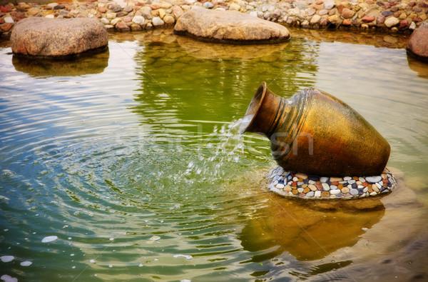 small fountain Stock photo © PetrMalyshev