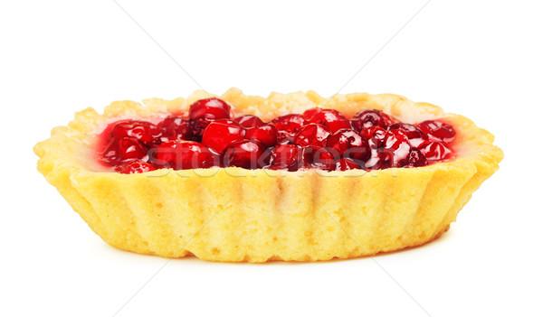 Cowberry Cake Stock photo © PetrMalyshev