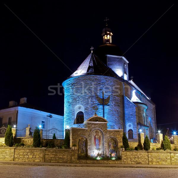 Trinity Church in Kamianets-Podilskyi Stock photo © PetrMalyshev