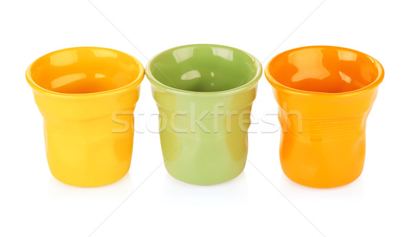 Colorful Espresso Cups Stock photo © PetrMalyshev