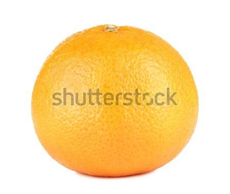 Fresh Mandarin Isolated Stock photo © PetrMalyshev