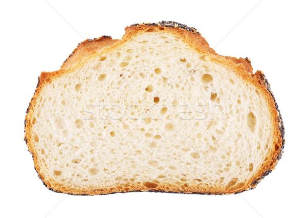 白パン スライス 孤立した 白 食品 パン ストックフォト © PetrMalyshev