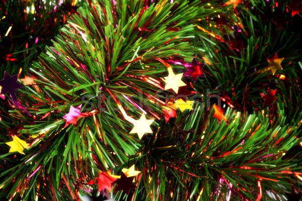 christmas tinsel Stock photo © PetrMalyshev