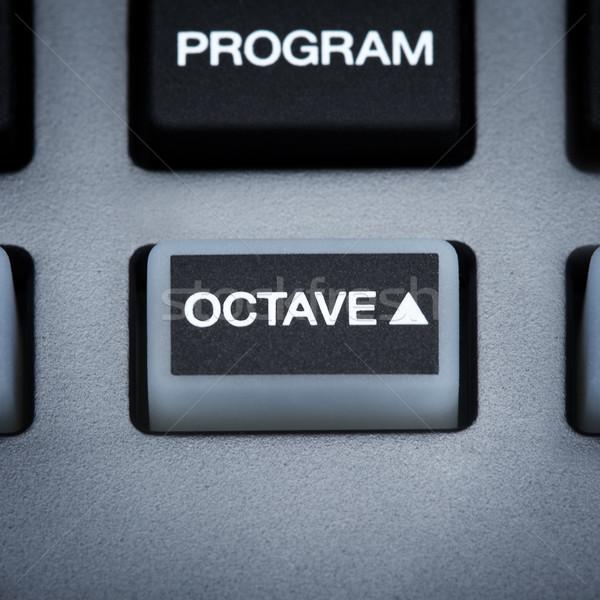 Midi Keyboard Part Stock photo © PetrMalyshev
