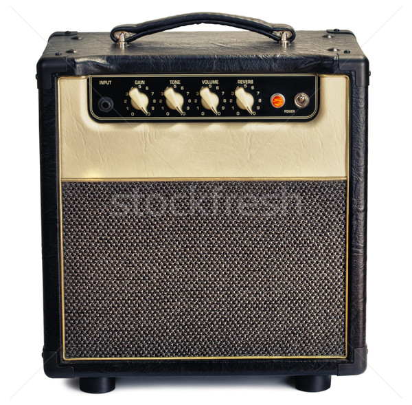 Vintage Guitar Amplifier Stock photo © PetrMalyshev