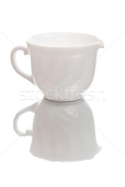 Fehér tejesflakon izolált üveg konyha reggeli Stock fotó © PetrMalyshev